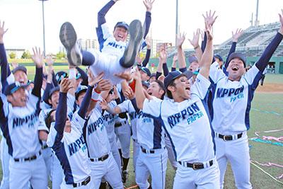 日本製紙石巻 3年ぶり日本選手権への切符JABA大会で初優勝