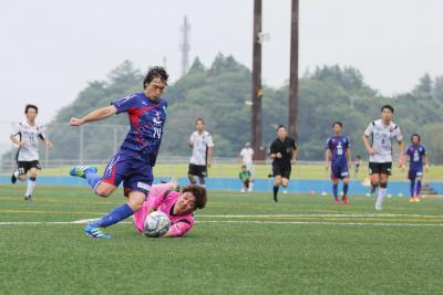 エース吉田選手は今季8ゴール目となる得点で勝利に貢献