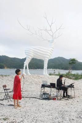 リボーンアート・フェスが幕開け 浜やまちで多彩に表現 9月10日まで51日間 牡鹿半島の豊かな食材も提供
