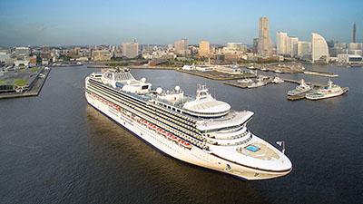 50周年の石巻港に大型客船続々 インバウンドへ弾み期待