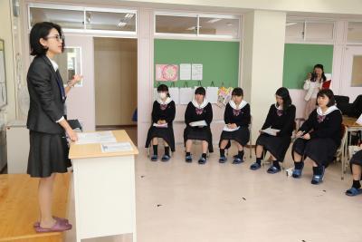 桜坂タイム 地域の女性たちが講話 働く苦労と意義とやりがい