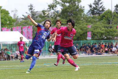 コバルトーレ女川 無敗首位でリーグ折り返し 弘前に2―0完封勝利 DF中津川の古巣対決も