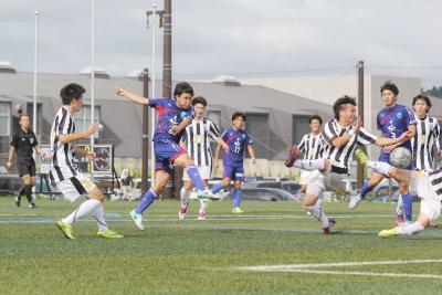 コバルトーレ女川 盛岡に3得点完封 新加入野口 リーグ初出場初得点 退場者出し後味の悪さも