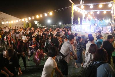 リボーンアート・フェス 51日間の総合祭に幕 オリジナル盆踊りで有終の美