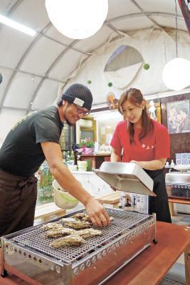 カキ小屋7日にオープン 生産者運営は市内唯一 石巻市沢田国道沿い