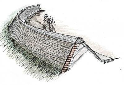 女川町 新庁舎敷地に慰霊碑建立 震災の教訓を後世に 遺族の心情と意向配慮
