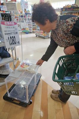 天下とるウマさ「だて正夢」 みやぎ米新品種プレデビュー 石巻地方でも売れ行き好調