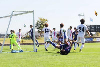 コバルトーレ女川 宮崎に先制も逆転負け 全国地域CL2回戦 1―2で惜敗