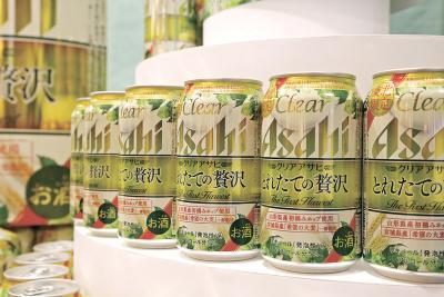 東松島の大麦 第3のビールに アサヒ「とれたての贅沢」 きょうから東北限定販売 1本ごとに復興支援