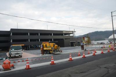 石巻市 8億7千万円で整備 立体駐車場30日オープン 元気いちばで記念イベント