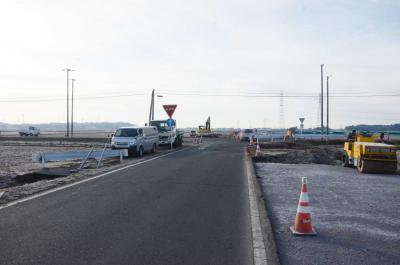 農道でなぜか事故多発 原因は変則的な十字路 年度内完成へ改良工事