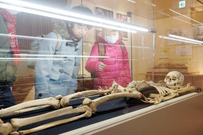 縄文村歴史資料館 25周年企画展開幕 骨からわかる太古の暮らし