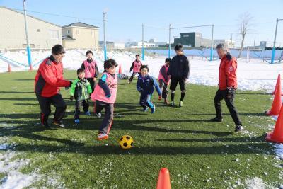 ユナイテッド石巻サッカークラブ 目指すは体力と技術力の向上 勝負でなく 自分と向き合う