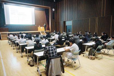 レベルアップを目指して学習の場となっている研修会
