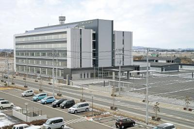 新たな県石巻合同庁舎完成 26日から順次機能移転 災害に強く利便性高い行政拠点 5階建て 土木事務所も集約