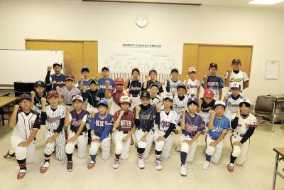 第60回記念石日旗少年野球 26チームで組み合わせ抽選 初戦相手に闘志燃やす 優勝者チームを厚木市に招待