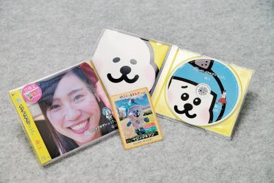 CDジャケットは萌江さん(左)と...