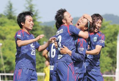 コバルトーレ女川 JFL第11節 待望のホーム初白星 上位武蔵野に1―0完封勝利