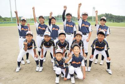 第60回記念石日旗少年野球 矢本・赤井南合同 「矢本スターズ」 特別な仲間と特別な大会へ 心一つに全員野球で