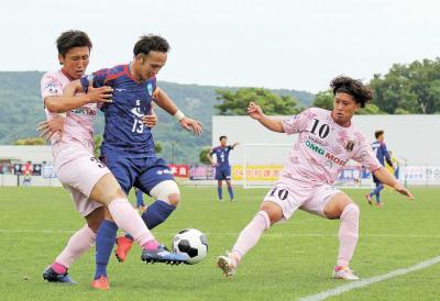 コバルトーレ女川 JFL第13節 奈良に0―4で大敗 ホーム石巻での勝利遠く 試合巧者も決めきれず