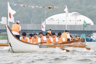 第95回石巻川開き祭り 孫兵衛船競漕 予選から白熱 さあ開幕 水の都の夏物語