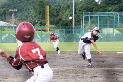 石日杯少年野球大会 1―2回戦16試合実施 新チームで初戦突破目指す