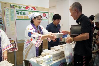 みやぎ水産の日 県とカゴメが初セミナー 連携協定で食と健康に弾み 普及拡大へ一歩