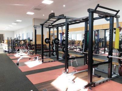 石巻トレーニングセンター 運動公園内で12月供用開始 健康増進へ35機種導入