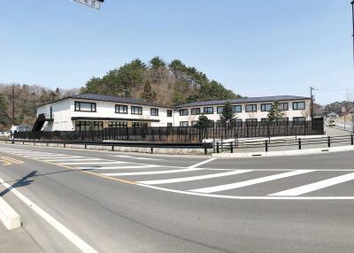 奥松島LANE HOTEL 19日オープン 野蒜ケ丘初の宿泊施設 懐石料理と温泉でもてなし