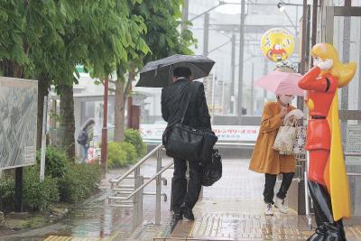小満に初夏の嵐 雄勝などで停電発生 通勤通学時に暴風直撃