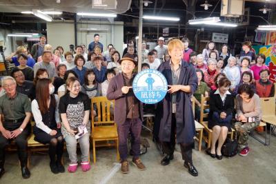 石巻ロケの映画「凪待ち」28日封切前に完成報告 舞台あいさつに期待大