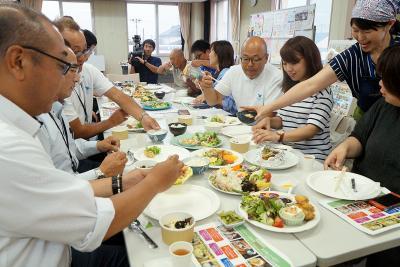 スマートミール 東松島の3店舗 来月県内初認定へ 官民で健康メニュー開発 外食でヘルシーな暮らし