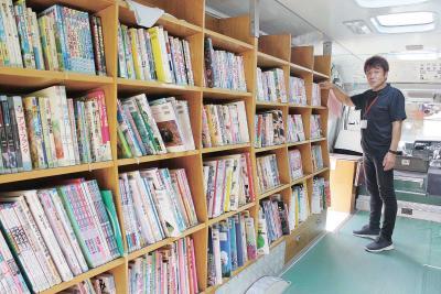 石巻・移動巡回図書館 「ひより号」8月末運行終了 仮設巡り心のケア貢献