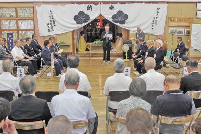 石巻神社 戦没者慰霊祭 遺族ら50人深い祈り 令和につなぐ平和と不戦