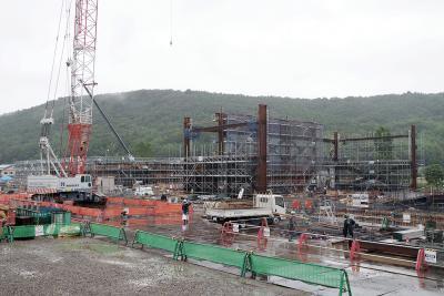 石巻市 整備進む複合文化施設 令和3年3月供用開始 来年度に命名権者公募 開館時間や料金も設定
