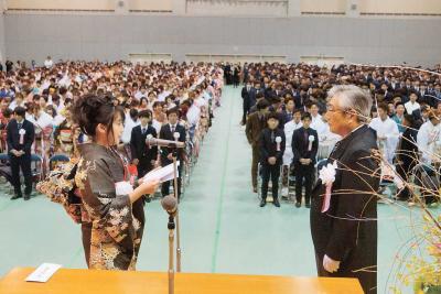 石巻地方で成人式 2千人「自由と責任」 古里の誇りと愛着胸に
