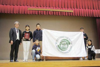 子ども守るSPS認証 石巻市内は計7校に 「学校安全」新たな伝統に 防災教育で渡波小、湊中